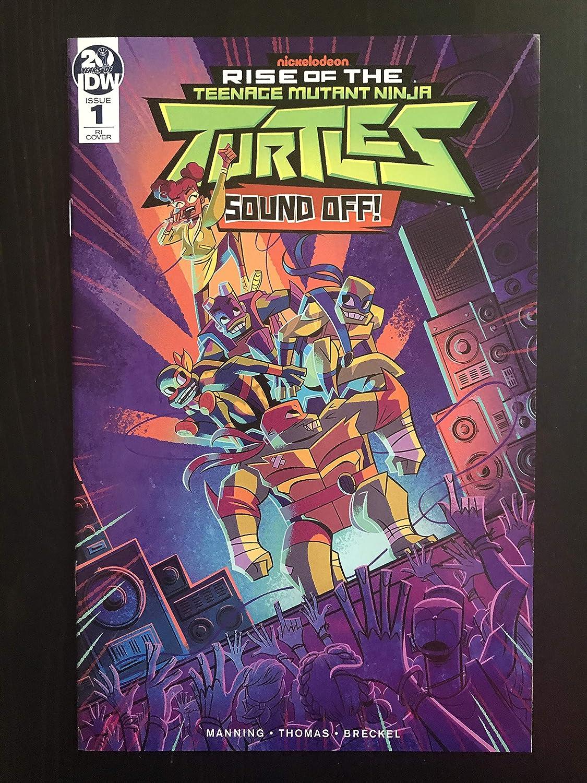 Rise of the Teenage Mutant Ninja Turtles Sound Off #1 ...