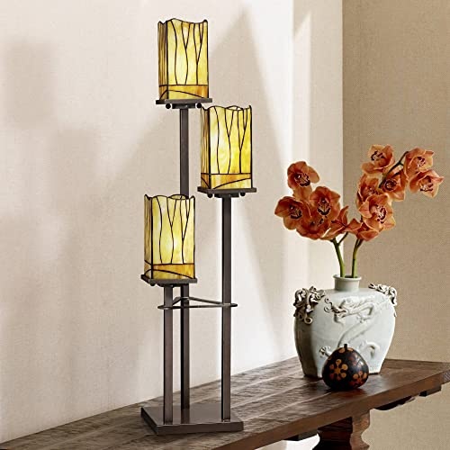 Sedona Collection 3-Tier Console Tiffany-Style Table Lamp