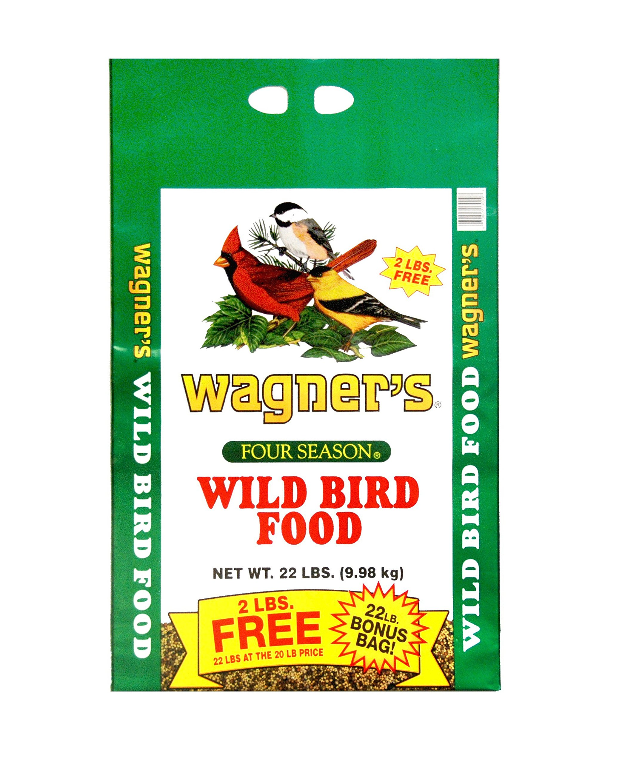 Wagner's 13009 Four Season Wild Bird Food, 22-Pound Bag by Wagner's
