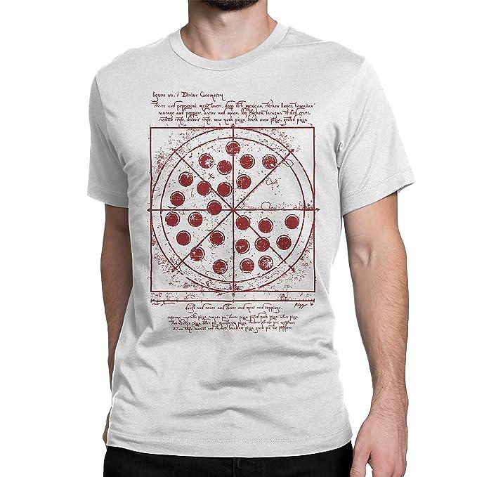 2780a8280 Cellblock 1138 Spiderman: Homecoming Inspired Vitruvian Pizza Tshirt White