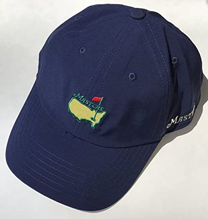 8a21e06a030 Amazon.com  Masters golf hat navy performance style augusta national new  2019 masters pga  Sports Collectibles