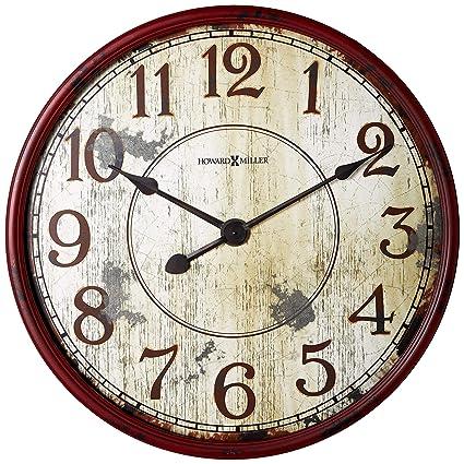 Amazon Com Howard Miller 625 598 Back 40 Wall Clock Home Kitchen