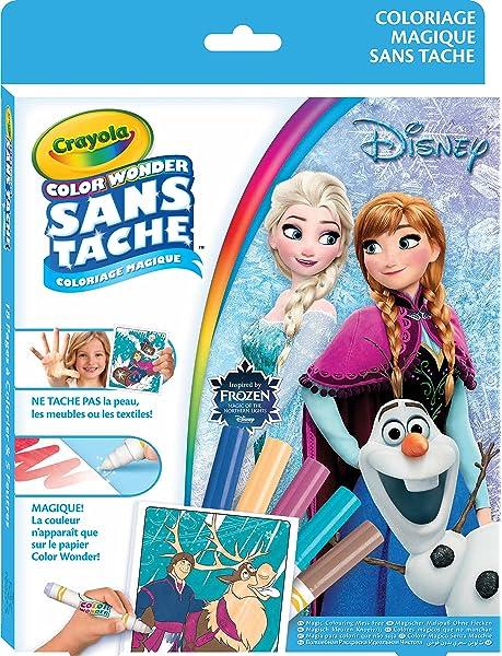 Samatli 12786 Crayola Color Wonder Lekesiz Boyama Frozen 1 Amazon