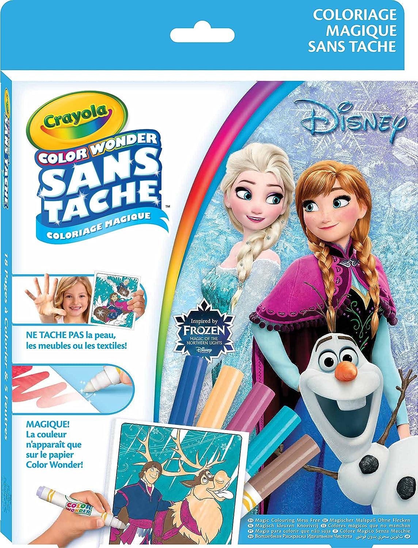 Crayola Kit Color Wonder Disney La reine des neiges Amazon Jeux et Jouets
