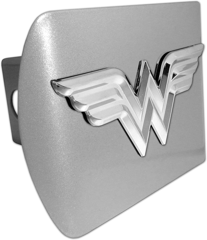 Elektroplate Wonder Woman 3D Black All Metal Hitch Cover