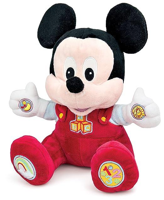 89 opinioni per Clementoni 14636- Peluche Interattivo, Baby Mickey, 6 Mesi+