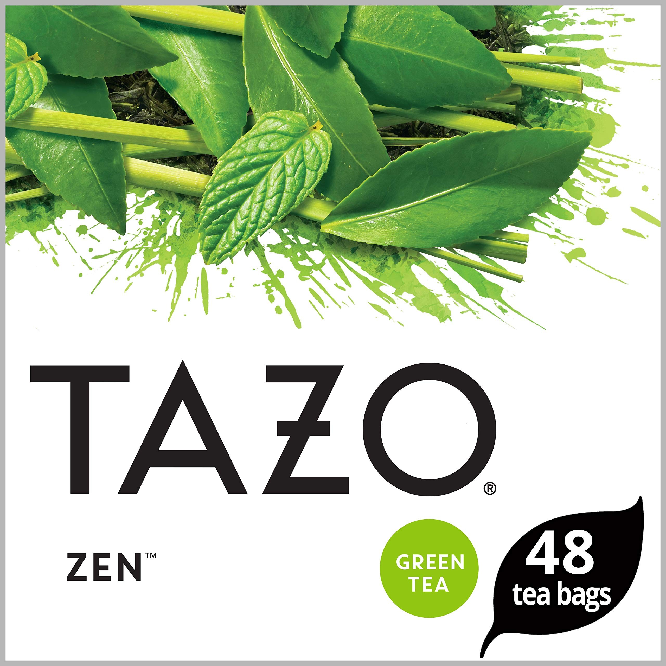 Tazo Awake English Breakfast Black Tea Filterbags 48 ct, Pack of 4 (Packaging may vary) by Tazo