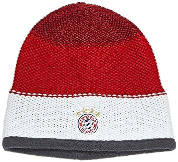 a4116c6a713 adidas Women s FC Bayern Beanie Craft Red F12 FCB True Red AA0757 White