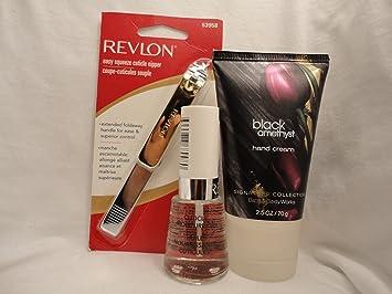 Amazoncom Revlon Easy Squeeze Cuticle Nipper 53958 Revlon