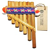 Petite Tiny Peru Toy Antara Pan Flute 7 Pipes