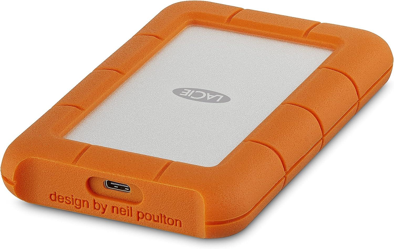 Lacie Rugged Mini 1 Tb Usb C Externe Tragbare Elektronik