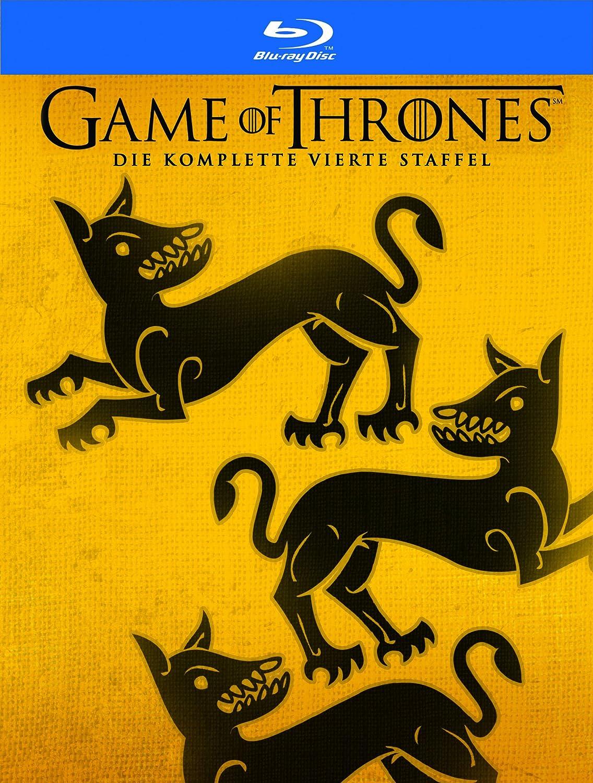 Game Of Thrones Staffel 4 Digipack Bonusdisc Exklusiv Bei Amazon