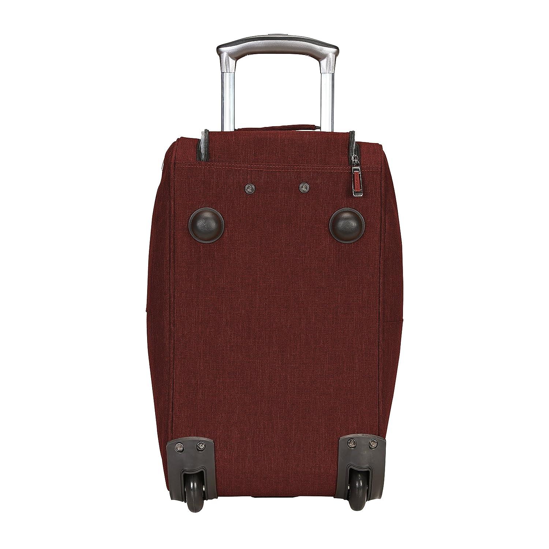 d779eaf5fbf Amazon.com   Ricardo Beverly Hills Malibu Bay 20-inch Rolling City Duffel,  Wine   Luggage
