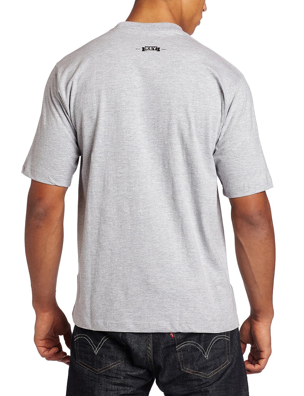 Key Apparel Mens Big /& Tall Short Sleeve Heavyweight Pocket Tee Shirt