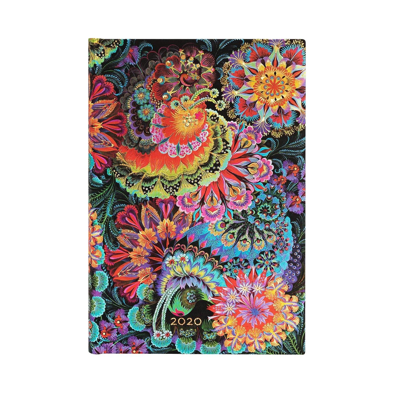 140 x 95 mm Paperblanks 12-Monatskalender 2020 Mondlicht |Horizontal Mini
