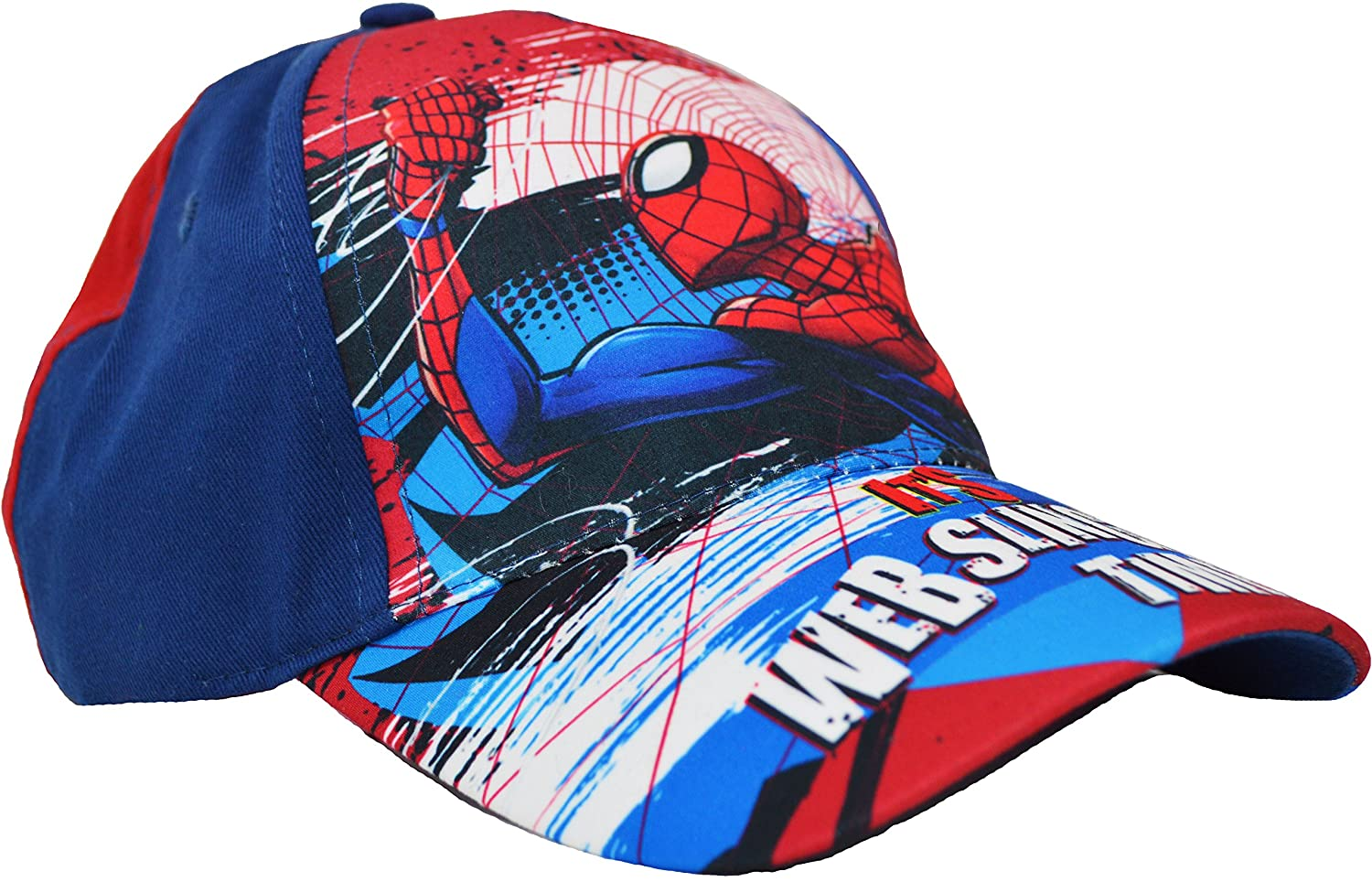 898f91a42629cf Spiderman Cap Boys Kids Marvel Baseball Cap Summer Hat (2-4 Years (52cm),  Red): Amazon.co.uk: Clothing