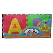 Verdes Alphabet and Numbers Foam Puzzle Playmat
