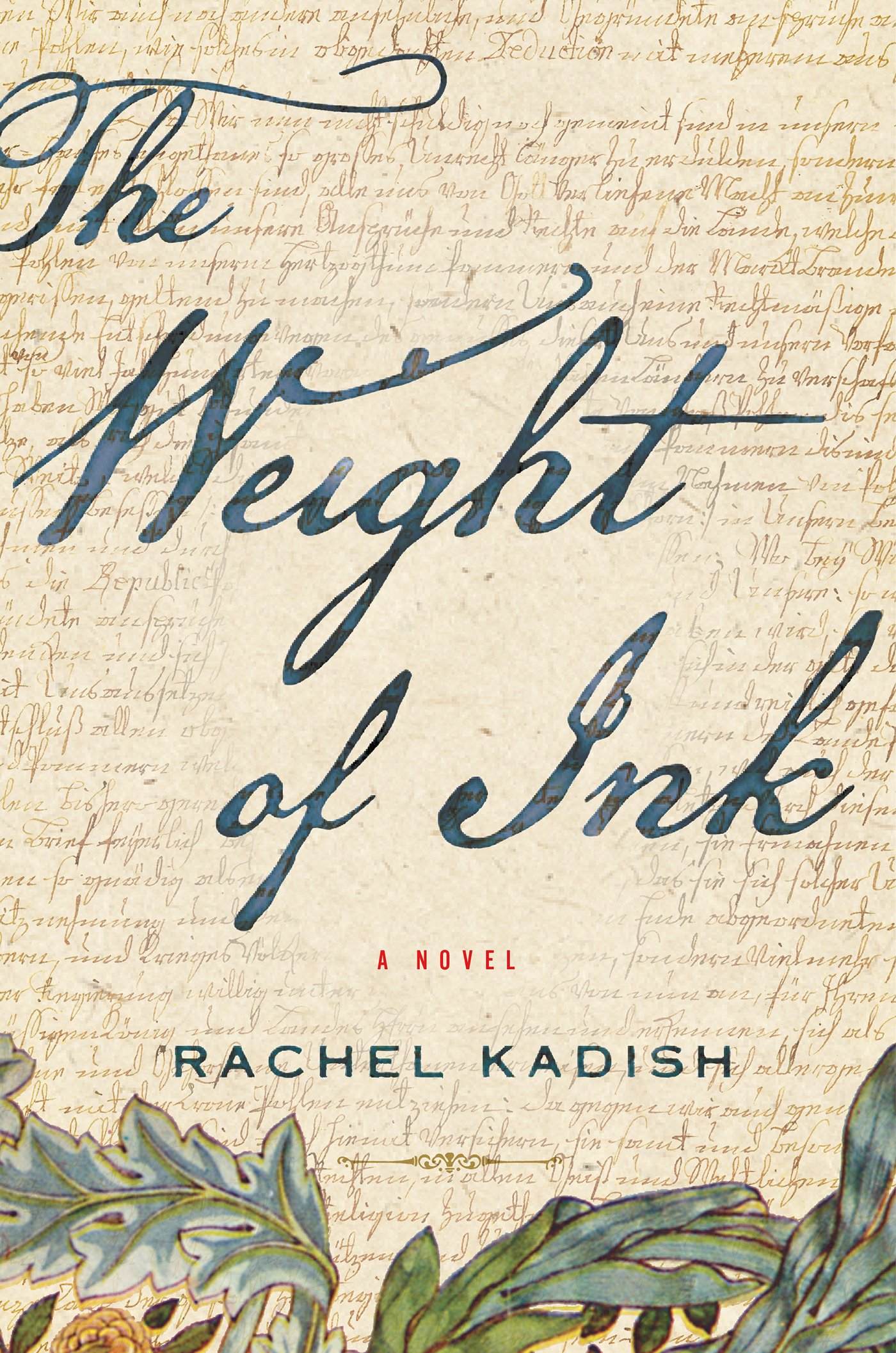 HOOPLA BOOK CLUB DISCUSSION: THE WEIGHT OF INK BY RACHEL KADISH @ On Zoom - contact Molly Robinson at mrobinson@rappahannock.edu for Zoom link information.