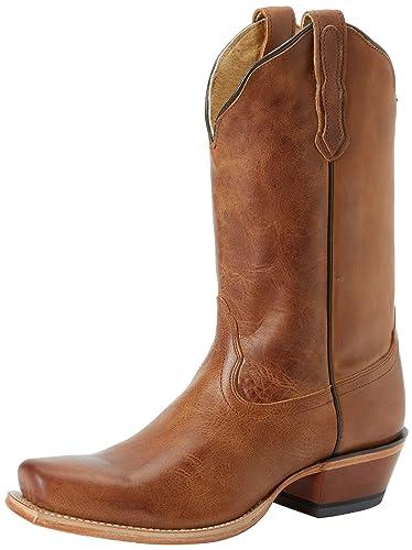 4588ae47fa71 Nocona Boots Women s Old West Tan L Toe Boot