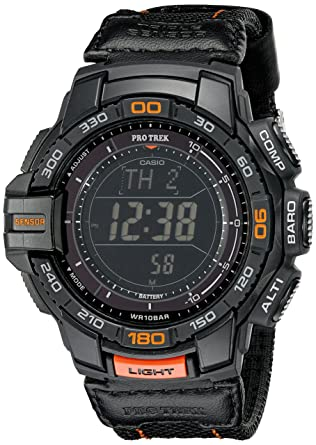Buy Casio Men's PRG 270B 1CR PRO Trek Aviator Black Watch