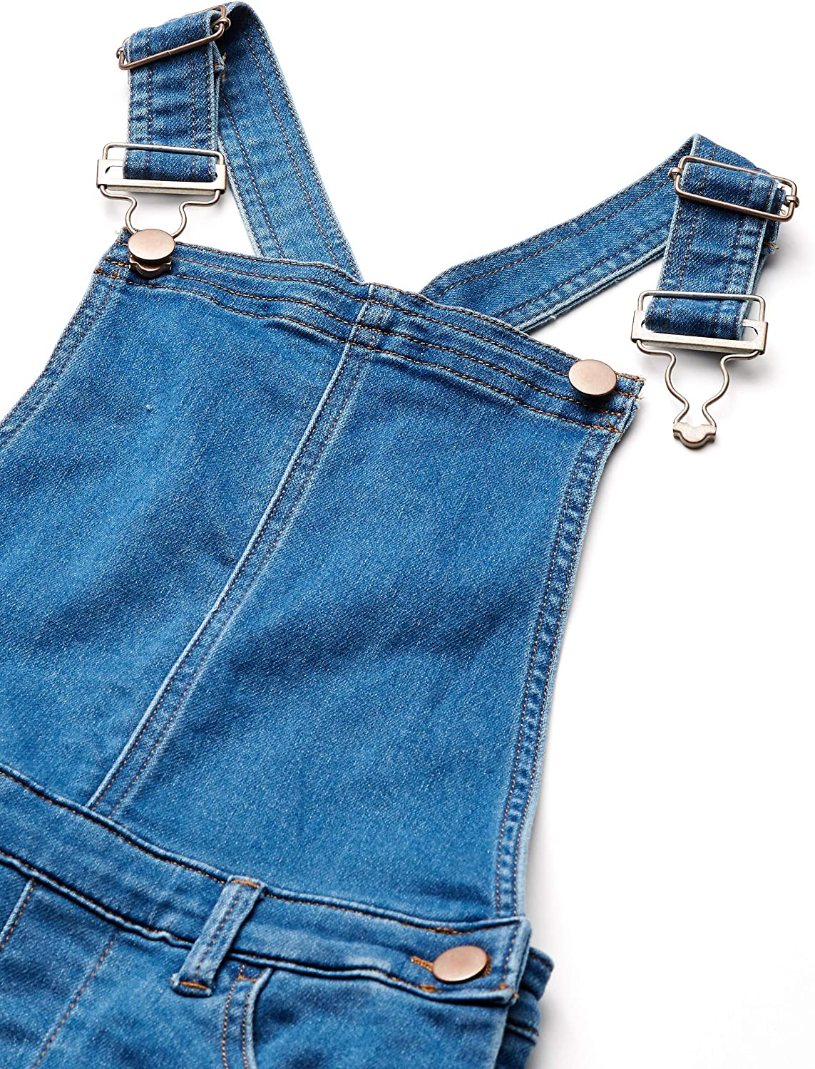 Spotted Zebra Girls Knit Denim Overall Brand