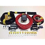 Sistema de carga para batería auxiliar de 4 m con relé de alta resistencia de 12 V y 100 A