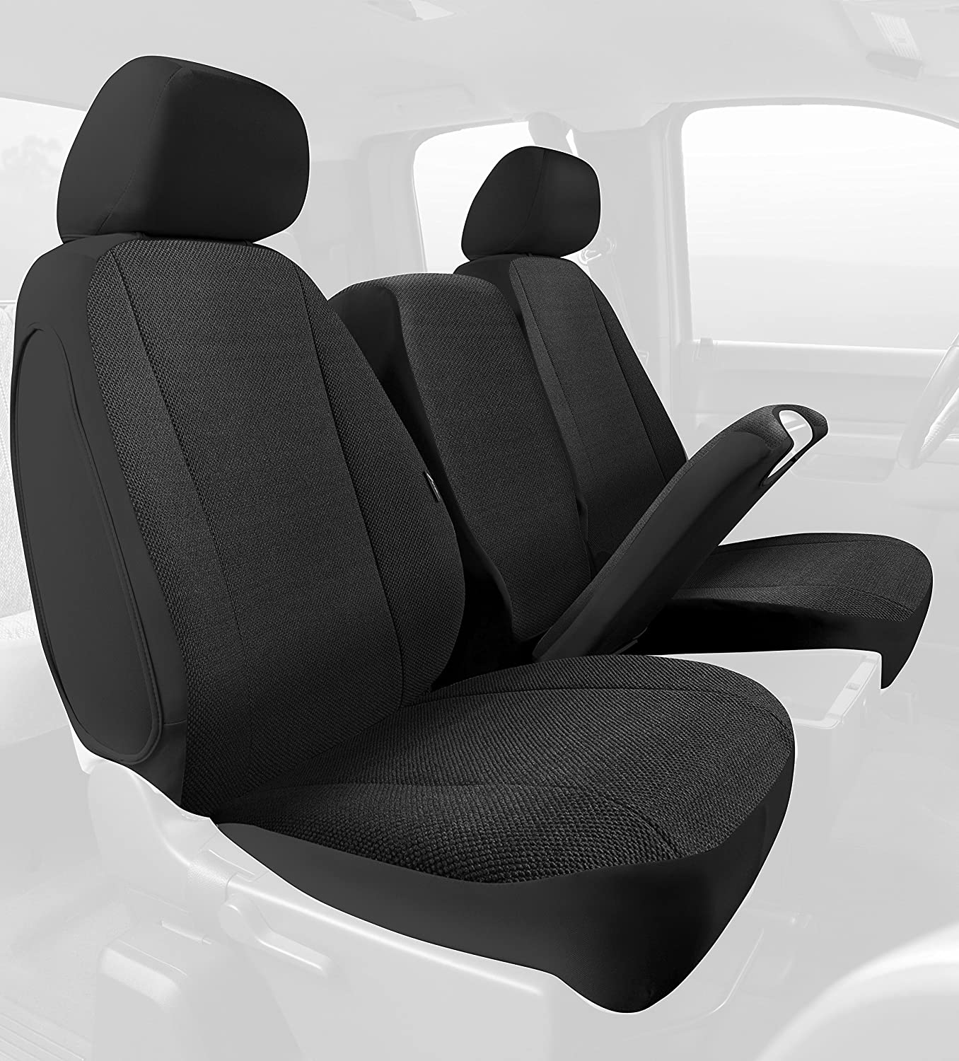 Fia TRS48-23 GRAY TRS40 Solid Wrangler Solid Gray Seat Cover Front Split Seat 40//20//40//Saddle Blanket