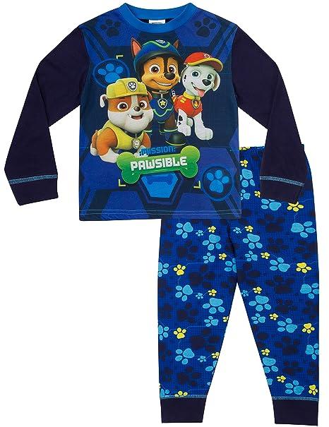 Paw Patrol – Pijama Niños de 3 a 7 años Nick Jr pijama Pjs W17 azul