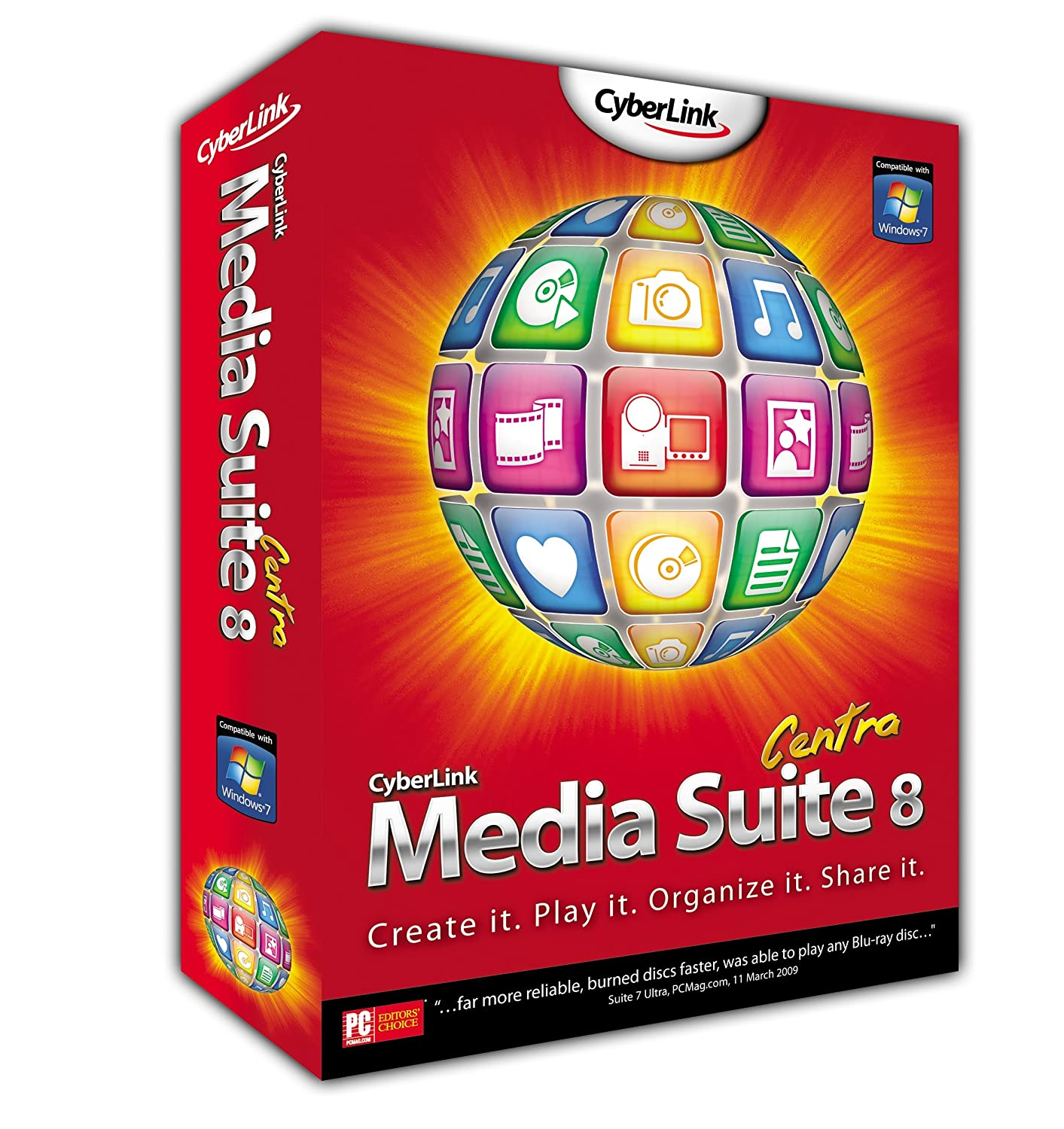 Cyberlink Media Suite 8 Centra (PC CD)
