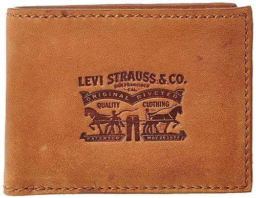 Levis 220470-4_Marron (27 Medium Brown) - Monedero de cuero ...