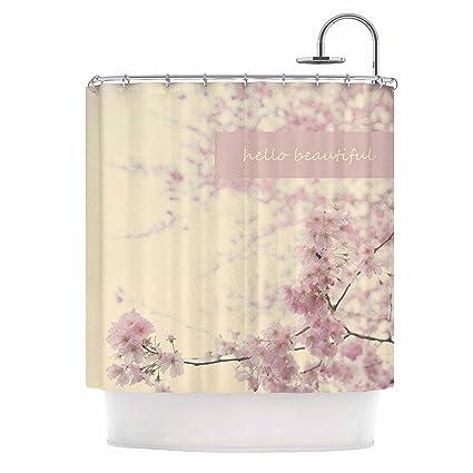 Amazon KESS InHouse Robin Dickinson Hello Beautiful Pink