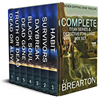 THE COMPLETE TITAN SERIES & DETECTIVE TOM LANGE BOX SET seven gripping crime thrillers (English Edition)
