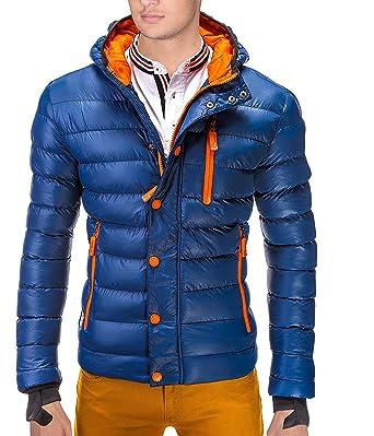 new style f1d3f 96f71 BetterStylz Herren Winterjacke CodyBZ Männer Daunen Look ...