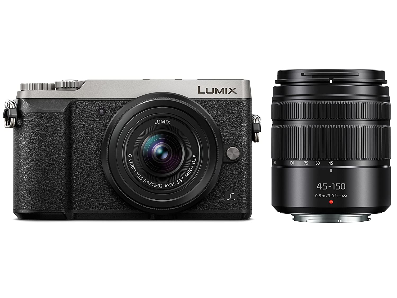 Panasonic Dmc Gx85kk Camera With Dmw Zstrv Travel Pack Lumix Gx85k Lensa 12 32mm Kamera Gx85 Photo