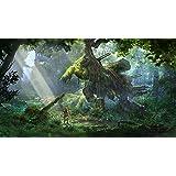 Horizon Zero Dawn Video Game Poster Canvas Premium Quality A0-A4.