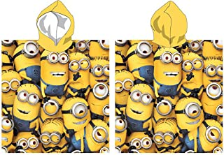 Handtuch Poncho Meer Minions Band 55x110 100% Baumwolle STN820749.