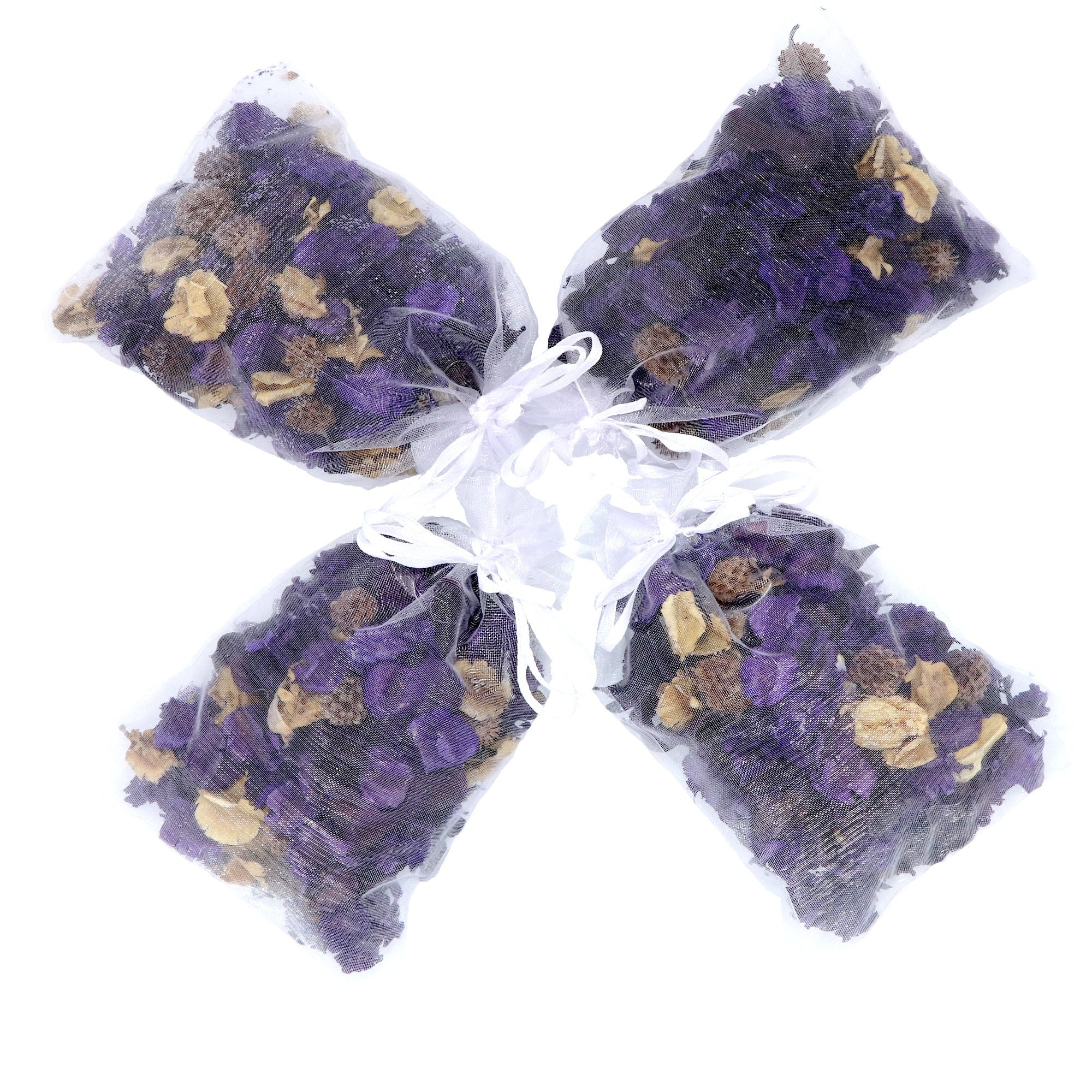 The Ambient Collection Lavender Scent Potpourri 20 g organza bag x 4 by The Ambient Collection