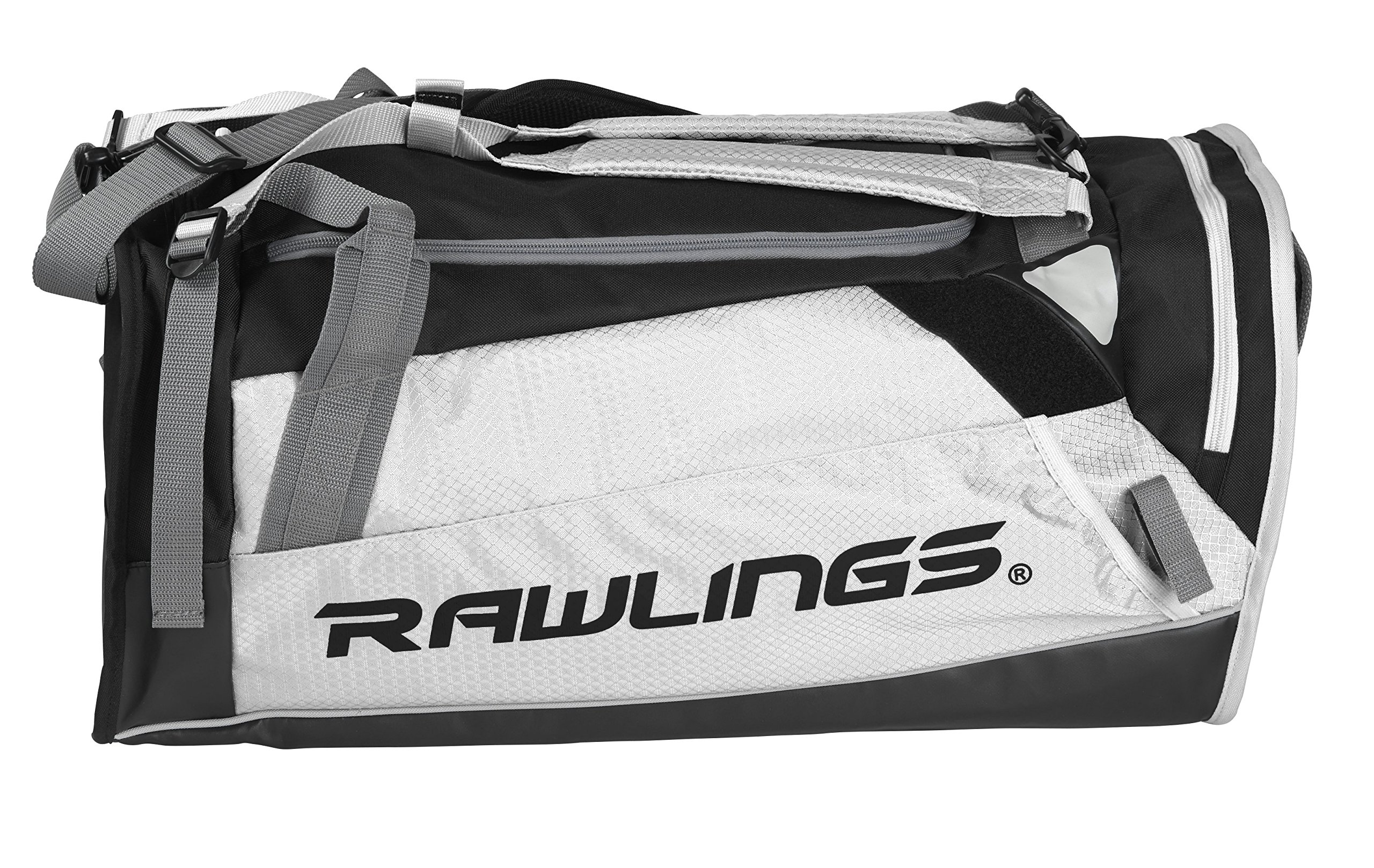 Rawlings Hybrid Duffel/Backpack Baseball/Softball Bag, White by Rawlings