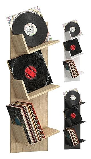 VCM Regal Schallplatten Möbel LP Aufbwahrung Archivierung Wandregal ...