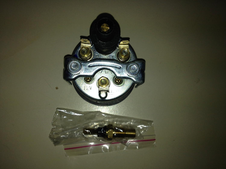 52 mm 120/°C Instrument Motorrad Auto LKW Elektronische Wassertemperaturanzeige 12V