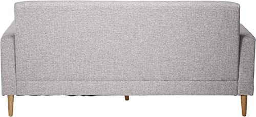 Christopher Knight Home Sawyer Mid-Century Modern Fabric 3-Seater Sofa