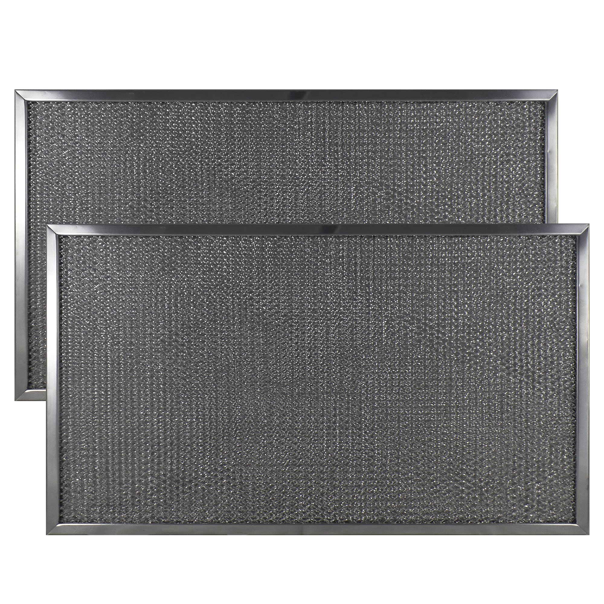 2-PACK Air Filter Factory 11-1/2 X 20 X 3/8 Range Hood Aluminum Grease Filters AFF215-M