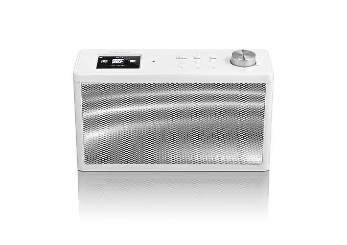 Lenco KCR-100 UKW Radio de Cocina con Bluetooth/® Blanco
