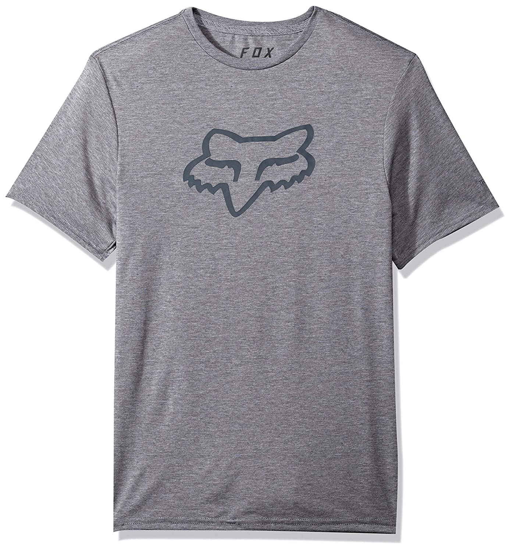 Fox Mens Trudri Modern Fit Legacy Logo Short Sleeve Tech T-Shirt