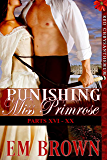 Punishing Miss Primrose, Parts XVI - XX: An Erotic Historical Romance (Red Chrysanthemum Boxset Book 4)