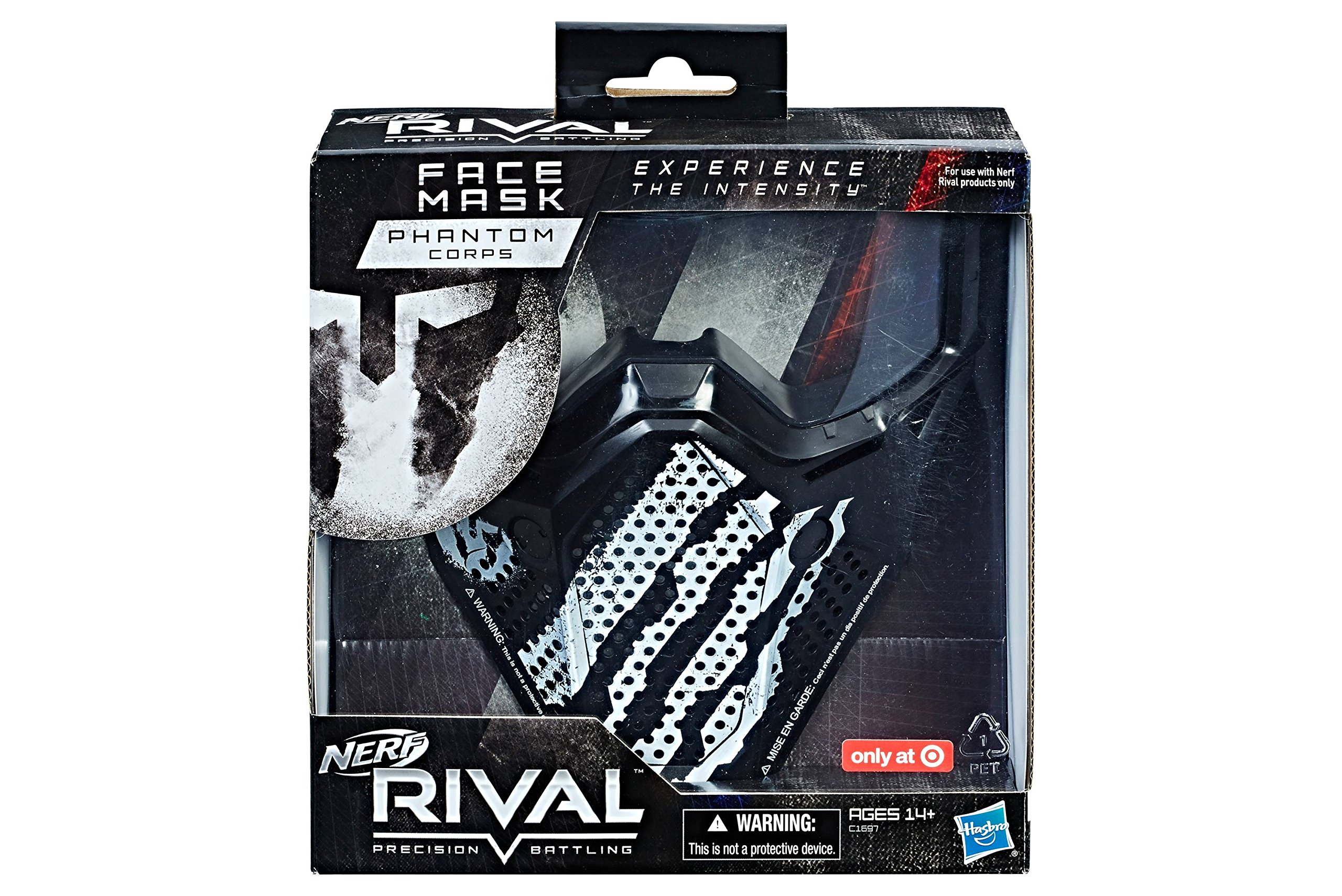 NERF Nerf Rival Phantom Corps Face Mask Grown Up Toys Toys & Games TIBS