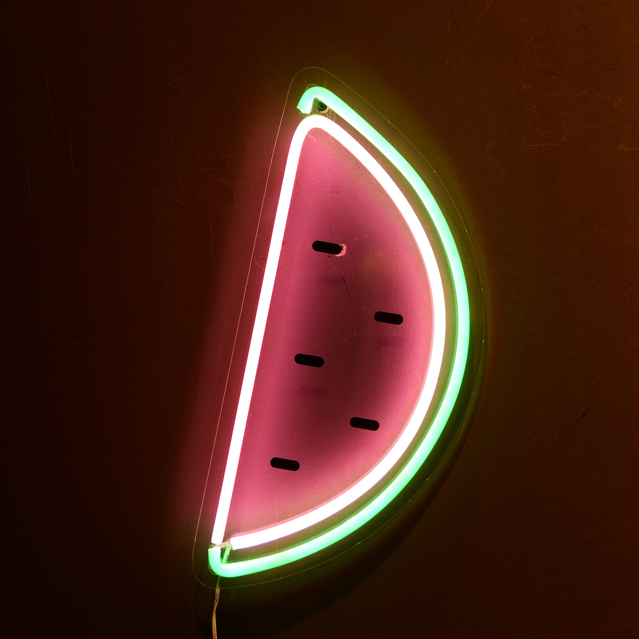 Nikky Home Decorative Watermelon Neon Light Wall Signs