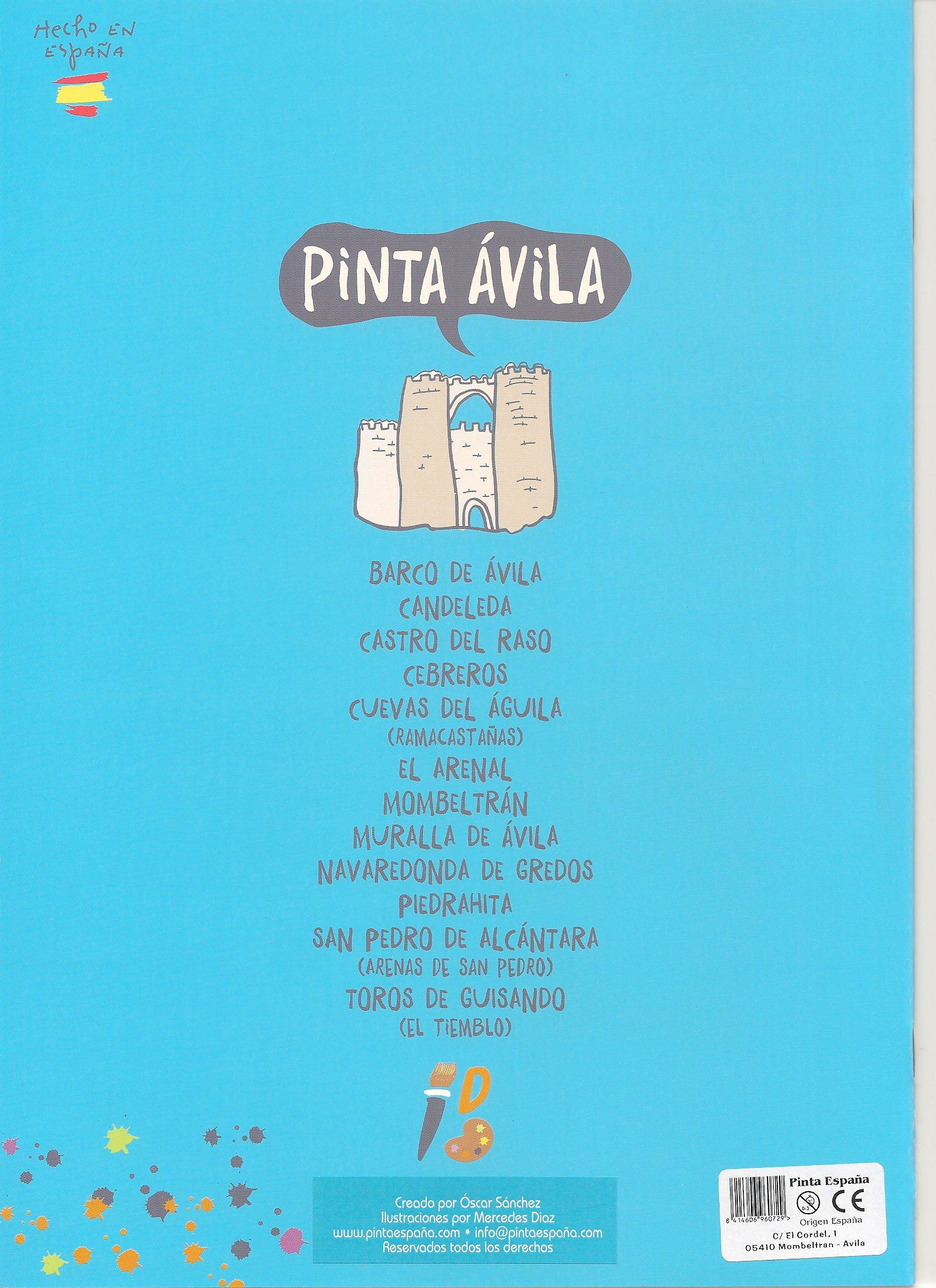 Pinta Avila: Amazon.es: Oscar Sanchez Martin, Mercedes diaz Villarías: Libros