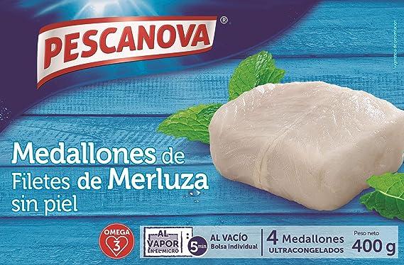 Pescanova Medallones de Merluza, 400g: Amazon.es ...