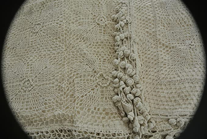 Amazon.com: tasleffa algodón crochet Funda Nórdica & Funda ...